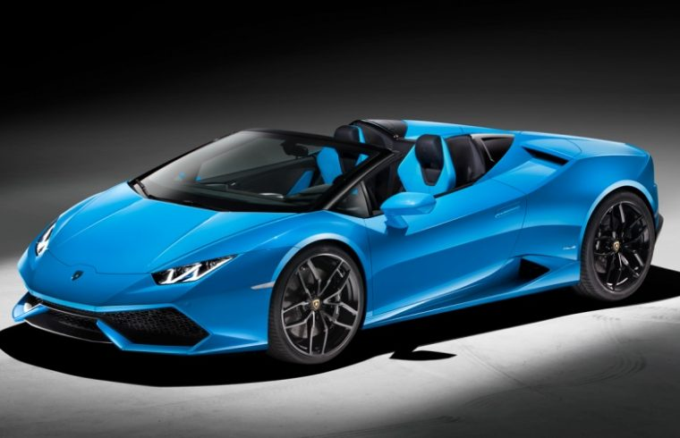 The Lamborghini Spyder is here