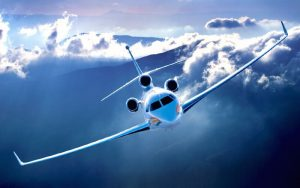 TRAVELLING WITH PRIVATE JET