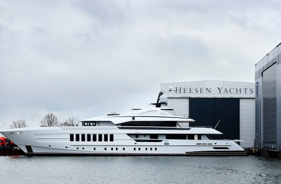 Heesen Unveil Newly Christened 55m Vida