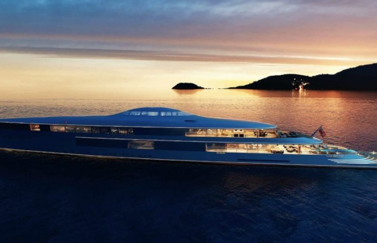 AQUA The 112m hydrogen-powered superyacht