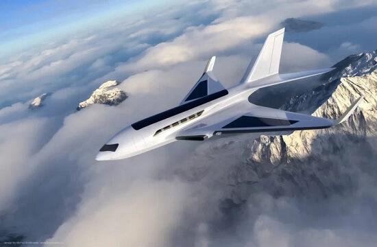 Business-Jet-Air-Friction-Power-Kompromentiert