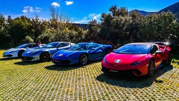 Supercar Tour Sardinia Italy