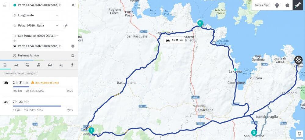 ITALY-SARDINIA TOUR (SUPERCAR)