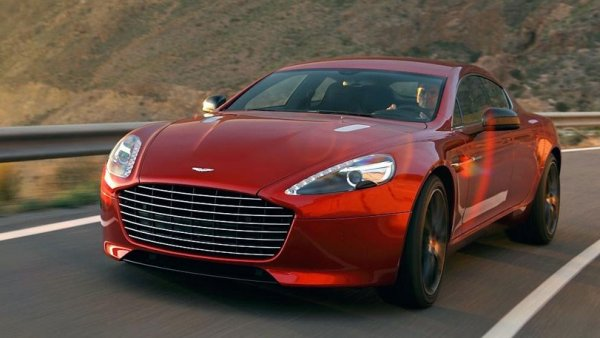 Aston Martin Rapide S four-door luxury