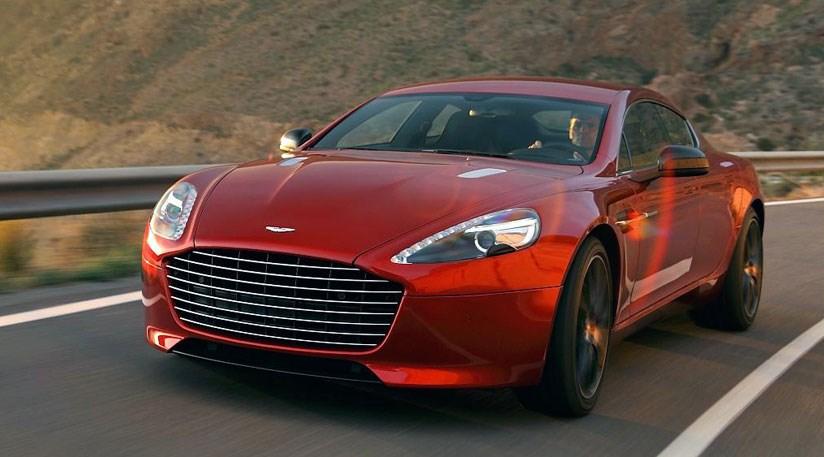 Aston Martin Rapide S four-door luxury