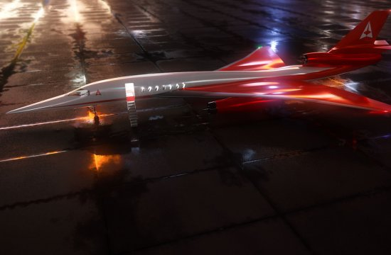 Aerion Supersonic on Florida's MLB Airport