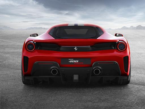 Ferrari 488 Pista-Backside