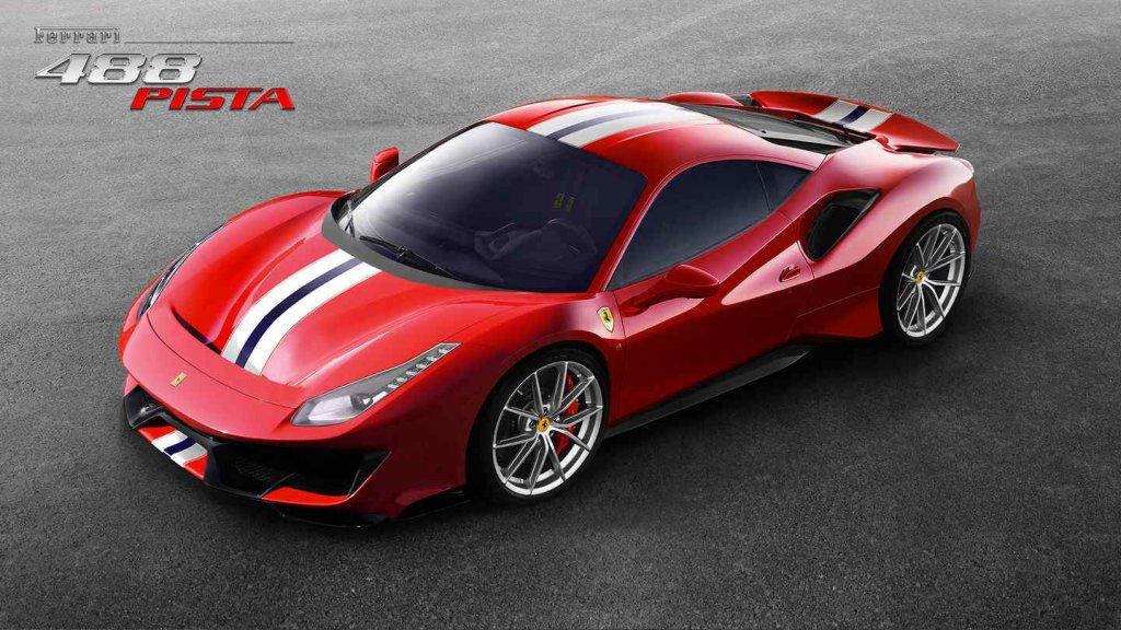 Ferrari 488 Pista-The ultimate driving experience