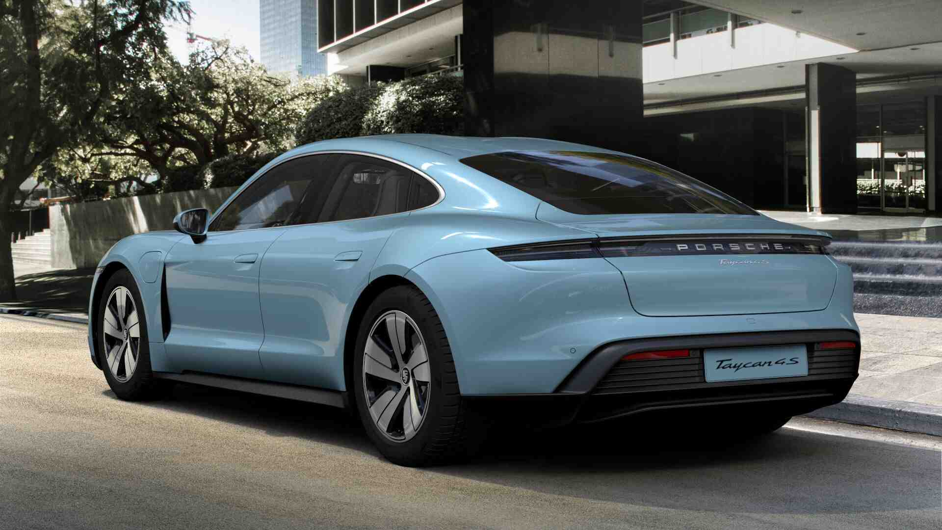 Porsche's Taycan Electric Car