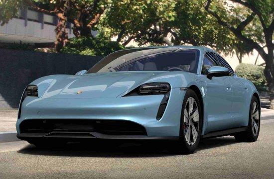 Porsche's Taycan Electric Car