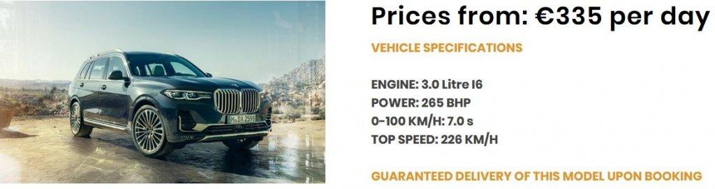 Angebot BMW X7
