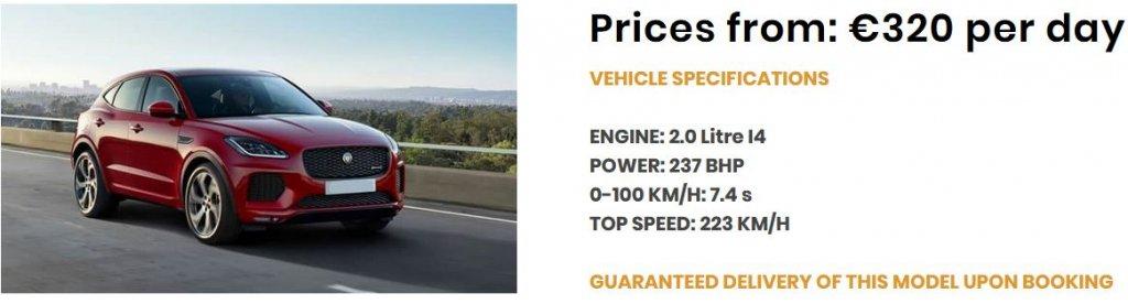Angebot-Jaguar E Pace