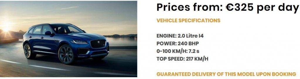 Angebot-Jaguar F-Pace