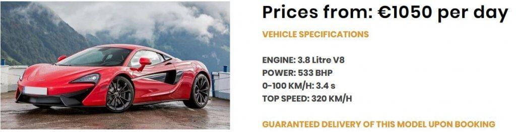 Angebot_McLaren 540C