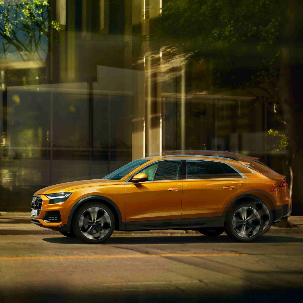 Audi Q8 - The sporty and elegant appearance