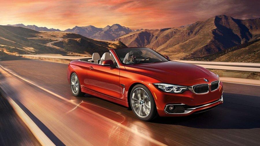 BMW 4 Series Convertible - The Sun Towards