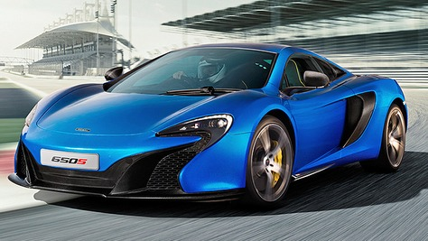 McLARAN 650S | Luxury Car Rental