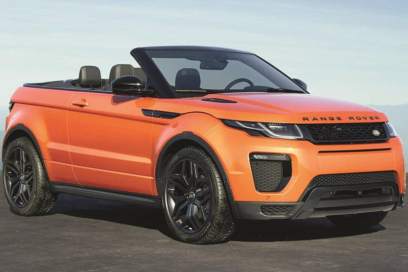 Range Rover Evoque Convertible - Is Set To Drive