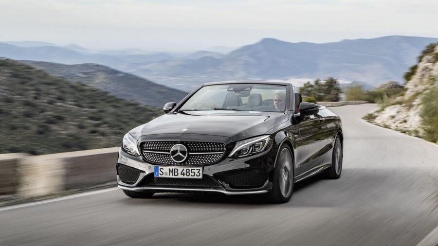 Mercedes c-class-convertible