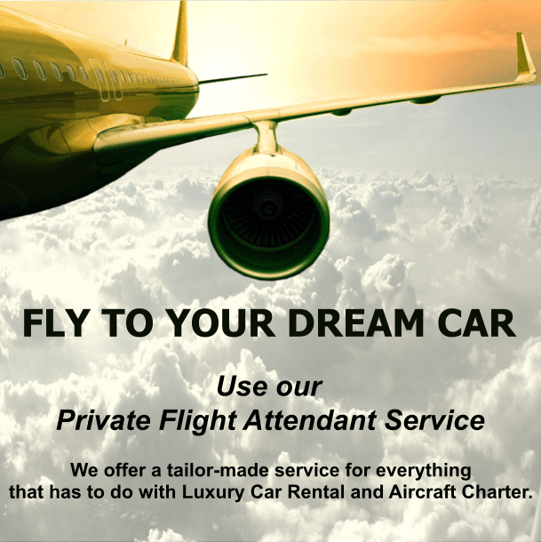 FLY TO YOUR DREAM CAR